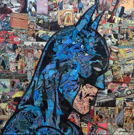 Literal Comic Book Collages (UPDATE)