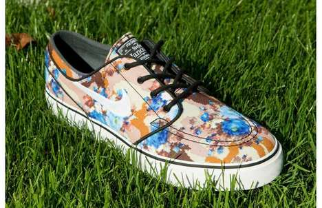 Masculine Floral Kicks