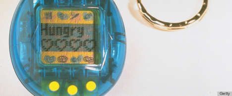 Robotic Pet 90s Fashion - Embrace Your Inner 90s Kid with the Tamagotchi Clothing Line