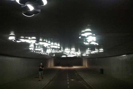 Interactive Tunnel Lights