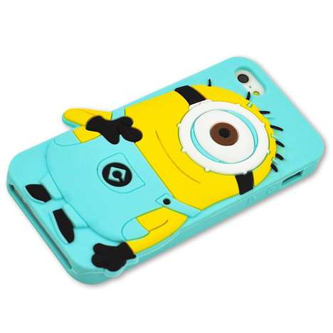 3D Cartoon Phone Cases - This Minion Phone Case From Amazon is Sure to Make Your Friends Jealous