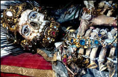 Ancient Bejeweled Skeletons