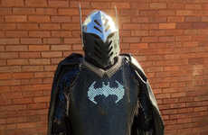 Medieval Comic Book Armor - Batman Scalemaille Takes the Dark Knight Back to the Feudal Age