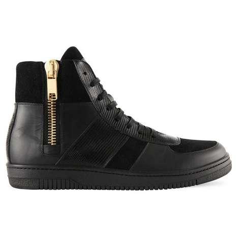 Adorned Zippered Kicks