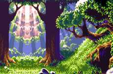 Video Game Pixel Art - Get Nostalgic with These Pixelated Video Game Scenes