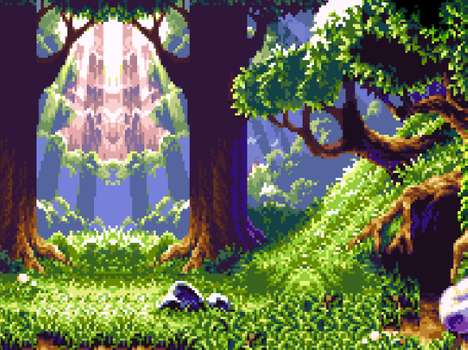 Get Nostalgic with These Pixelated Video Game Scenes