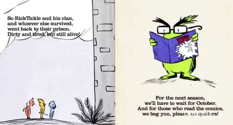 Zany Zombie Parodies