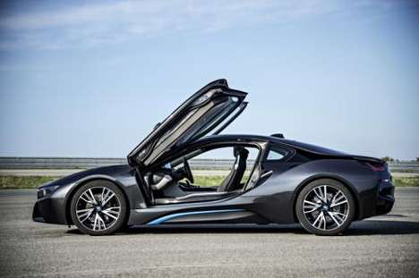 Feisty Eco-Friendly Autos - The 2014 BMW I8 is a Beast on Wheels But Easy on the Environment