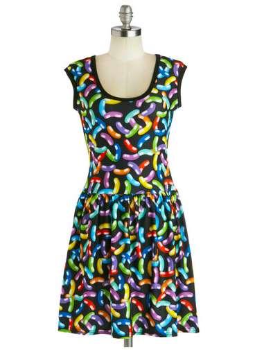 Colorful Jellybean Dresses