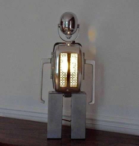 Robotic Rubbish Lighting