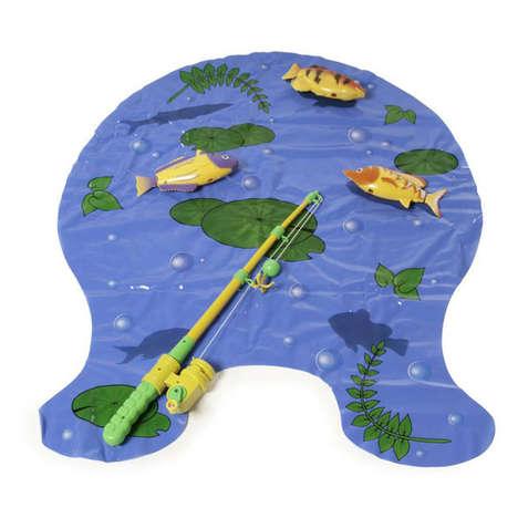 Bizarre Bathroom Fishing Games