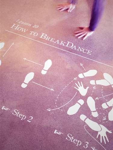 Instructional Dancing Decals