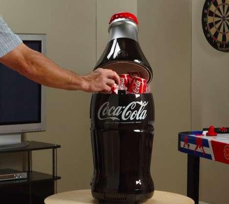 Vintage Cola Bottle Coolers