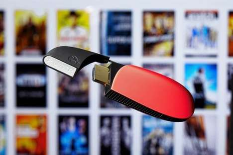 Portable Mixed Media Streamers