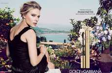 Edenic Beauty Ads - The 'Passioneyes' Campaign from Dolce and Gabbana Chanels a Natural Feel