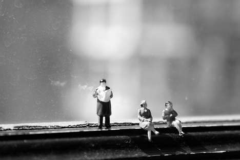 Surreal Miniature Toys - These Miniature People Toys are an Amusingly Surreal Set