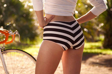 Fashion-Focused Cycling Shorts