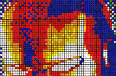 Vibrant Pixelated Cube Art (UPDATE)
