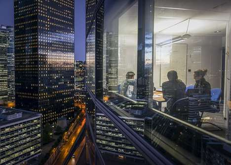 Reflective Metropolis Photography