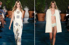 Patterned Poolside Couture
