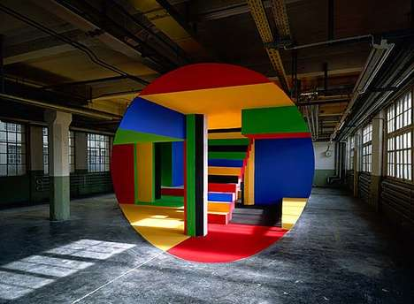 Geometric Illusion Photography (UPDATE) - The Incredible Photos by Georges Rousse Manipulate Reality