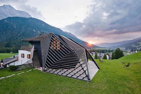 Geometric Country Homes