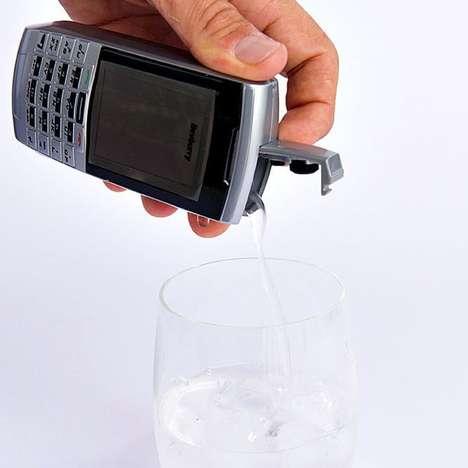Concealing Phone Flasks