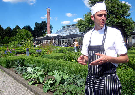 Hybrid Greenhouse-Restaurants - De Kas, Amsterdam Serves Freshly Grown Food as it is Harvested