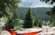 Sleek Suspended Hammocks - The Kammok 'Roo' is a Sleek Durable Hammock That is Perfect f