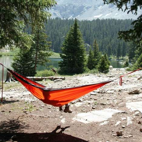 Sleek Suspended Hammocks