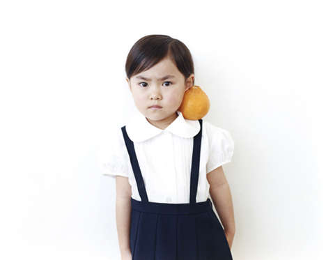 Adorable Fruit-Infused Portaits - Photographer Osamu Yokonami Has Created a Cute Series of Photos