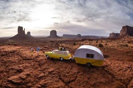 Southwestern Surreal Photography - The 'Southwest' Series is a Surreal Journey with Miniature People