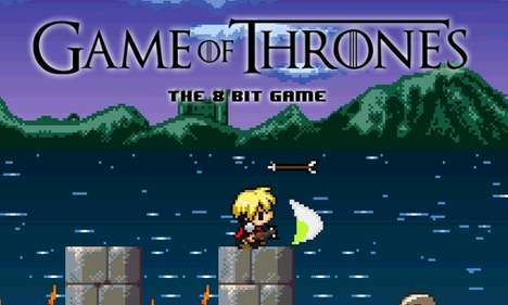 This 'Game of Thrones' Video Game by Abel Alves is 8-Bit Cuteness