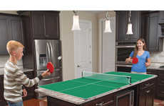 Sports Table Kitchen Designs - These Kitchen Ping Pong Tables are Convenient and Transportable
