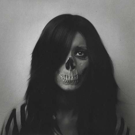 Eerie Skull-Infused Portraits - Maykel Lima's Skull Portraits are Disturbingly Realistic