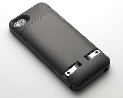 Phone-Charging Smartphone Sheaths