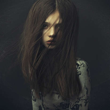 Hazy Emotive Portraits - The Incredible Portraits by Dmitry Noskov are a Stunning Display of Emotion