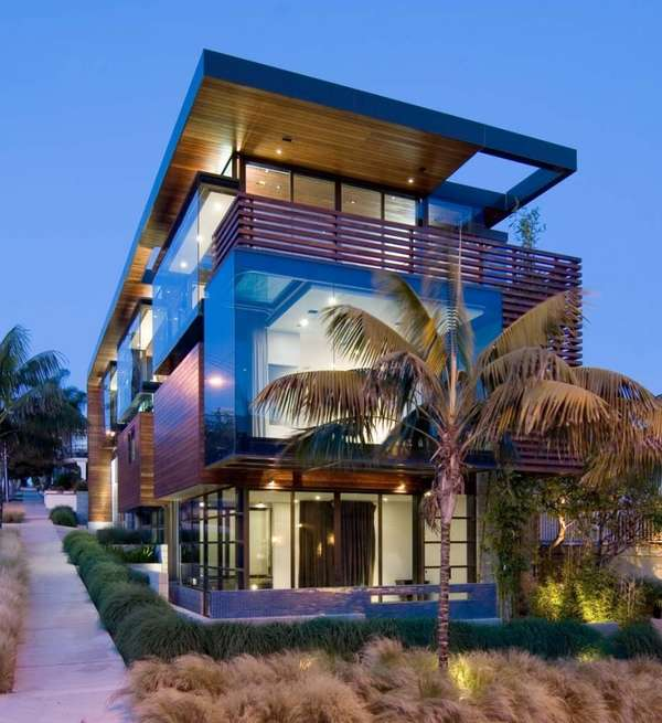 100 Ultra Modern Home Designs on linear home designs, outrageous home designs, dramatic home designs,