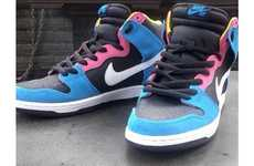 90s Bubblegum Sneakers - The Nike SB Dunk High 'Bazooka Joe' Pays Homage to the Five Cent Gum