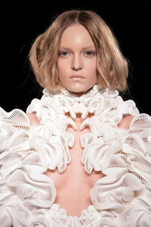 Structural 3D-Printed Couture - Artist Daniel Widrig Uses Technology to Create Incredible Fashion