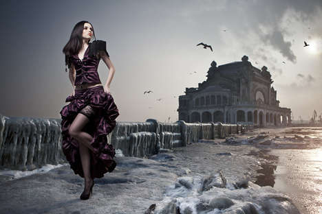 Feminine Dreamworld Photography - Daniel Ilinca Has Done a Remarkable Job Creating a Surreal World