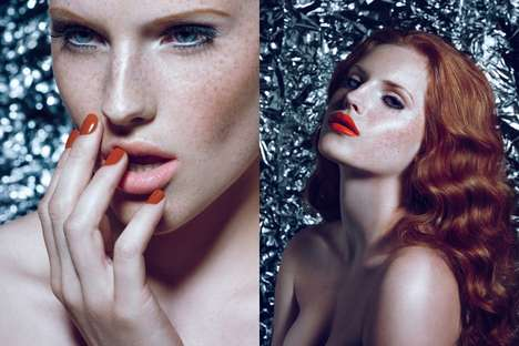 Alluring Redhead Editorials