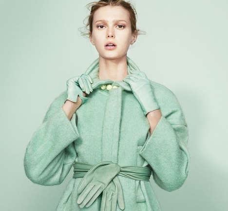 Achromatic Pastel Editorials - The Nyt T Style Woman's Fall Spread is Color-Coordinated