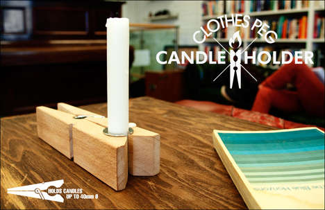 Adjustable Candle Peg Holders