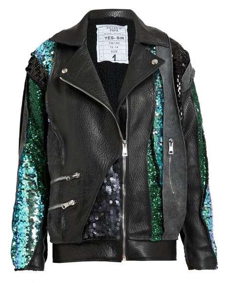 High-End Sparkling Coats