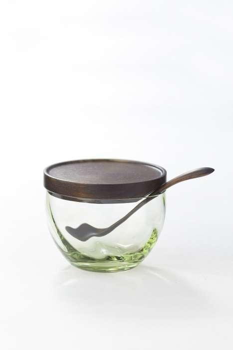 Warped Glassware Dishes