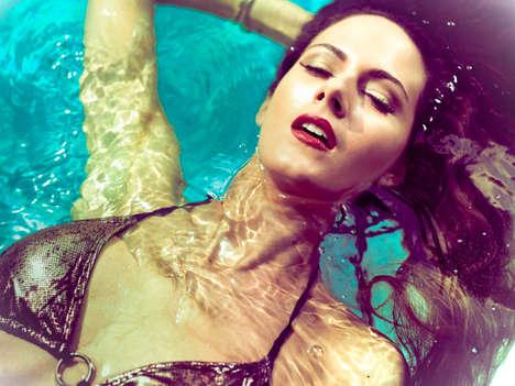 Sparkling Sea Goddess Editorials