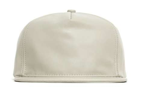 These Lambskin Leather Snapbacks by Stamp'd are Perfect for Cool We