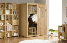 Secluded Study Cubicles - The Study Cube Takes Cramming to the Next Level