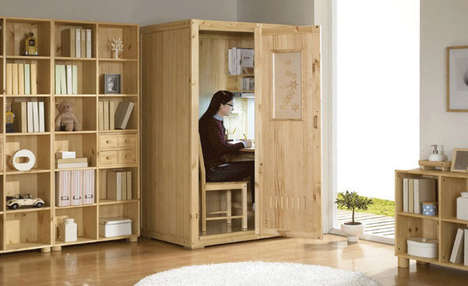 Secluded Study Cubicles